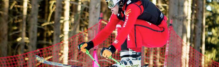 Skicross Schweizermeister Titel  für  Marc Bischofberger